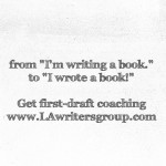 First Draft Novel Coaching