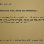 la writers group testimonial