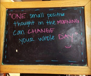 Positive Thoughts - Coffee Bean