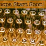 Writing Workshops starting soon