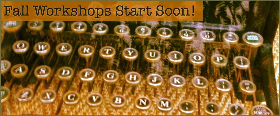 Writing Workshops Starting Soon!