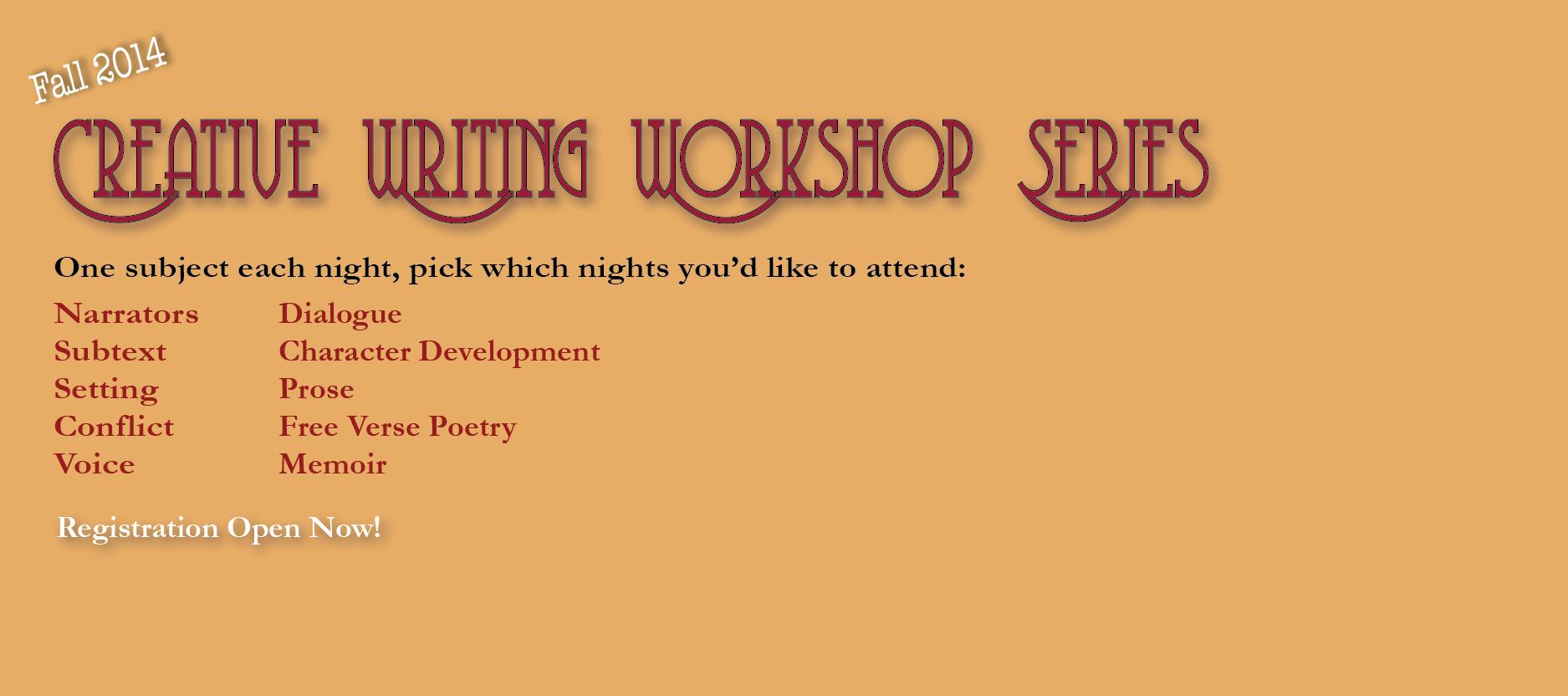 Creative-Writing-Workshop-Series-Fall-2014