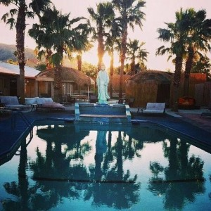 writers retreat - pool view