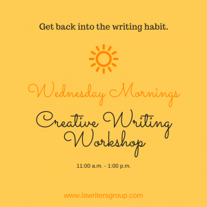 Creative Writing Workshop Wednesdays