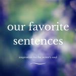 Our favorite sentences