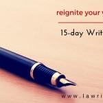 15-Day Writing Challenge