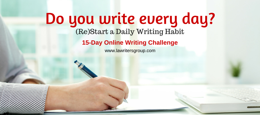 Challenge Yourself to Write Every Day for 15 Days