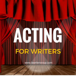 Acting for writers workshop in Los Angeles, CA