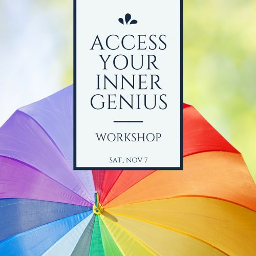 Access Your Inner Genius Workshop