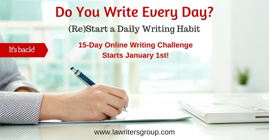 Challenge Yourself to Write Every Day