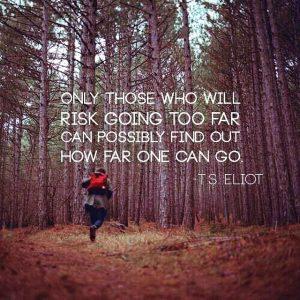 TS Elliot Quote - Far