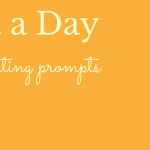 Writing Prompts by Email - A Prompt a Day