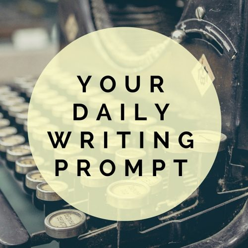 Writing Prompt for Saturday 11/19/16