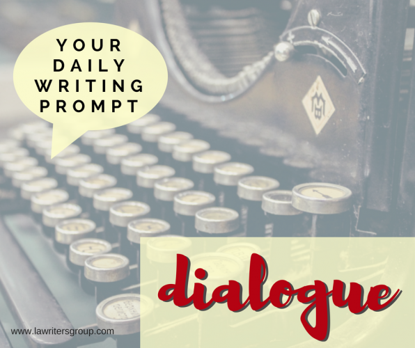 Dialogue Writing Prompts