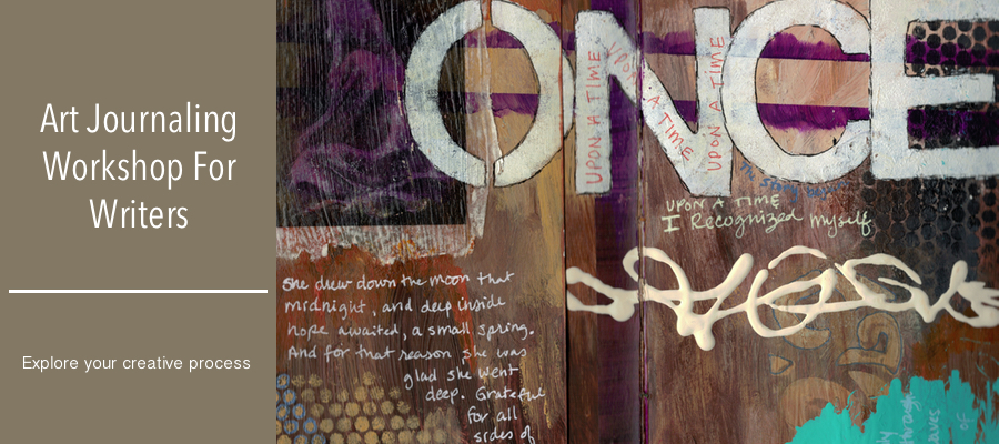Art Journal Once Upon A Time