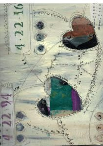 Art Journal Page by Nicole Criona