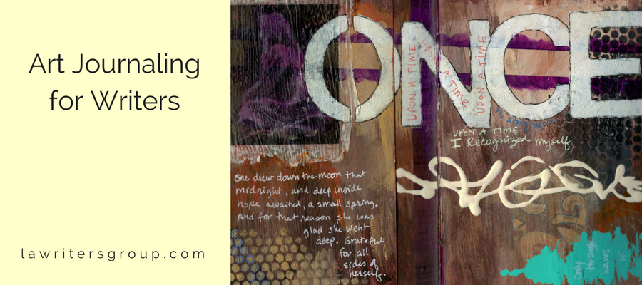 Art-Journaling-For-Writers