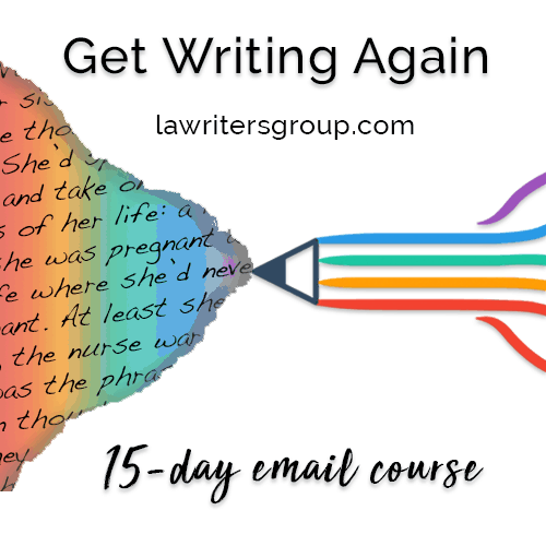 Get Writing Again, an email-based  workshop