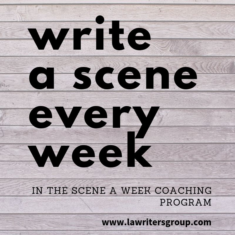 A Scene A Week Coaching Program for Writers