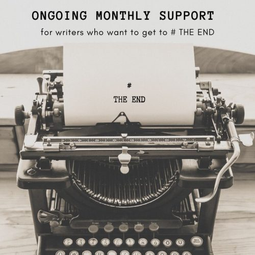 Monthly Support Group for Writers